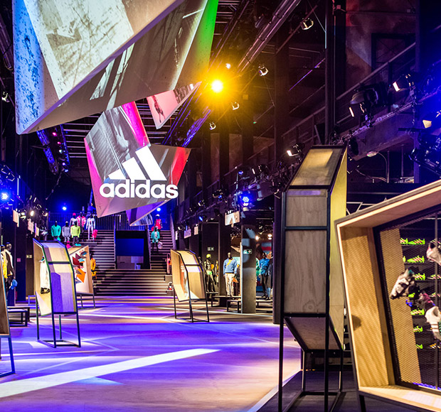 <span>Event</span>Digitales Markenband - adidas Consumer Center 2016